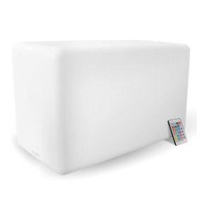 LED CUBE Seat, luminaire extérieur rechargeable