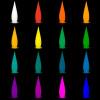 Lampe rocket rechargeable 1M20