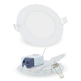 6W LED Plafonnier ultra slim Rond + driver