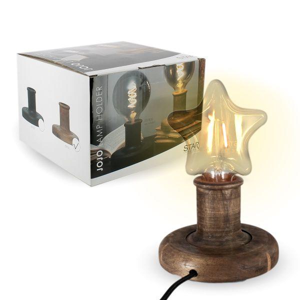 Lampe a poser bois JOJO E27