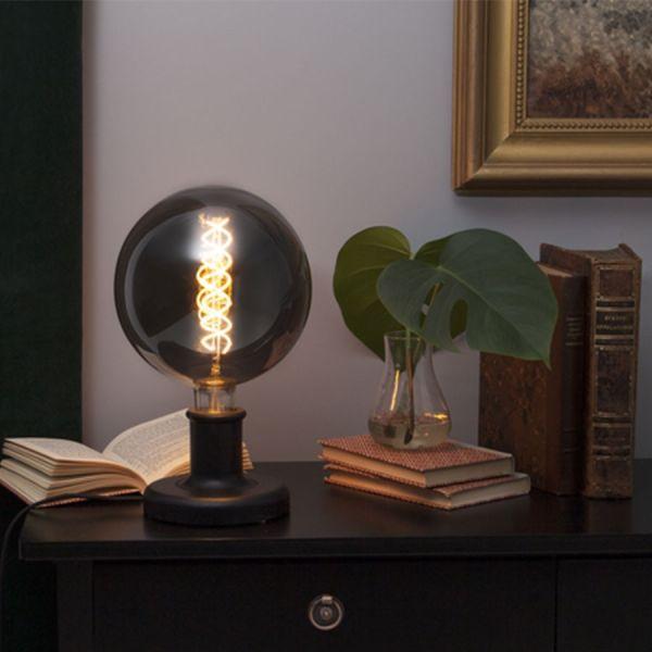 Lampe A Poser Noir Modele Jojo E27 Eclairage Design