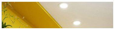LED da incasso a soffitto