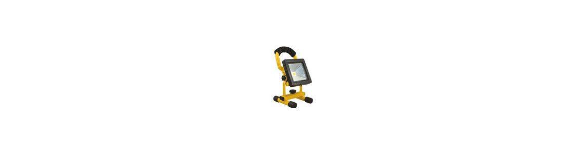 Projecteur LED Chantier sur pied