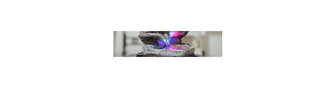 Fontaine et brumisateur lumineux d'intérieur