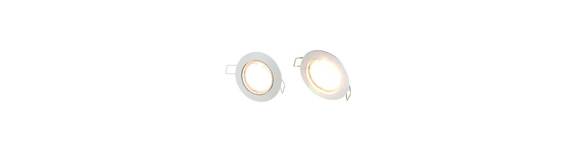 Lot spot LED encastrable plafond blanc