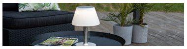 Lampada da tavolo solare