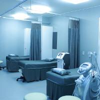 Éclairage dans un cabinet médical